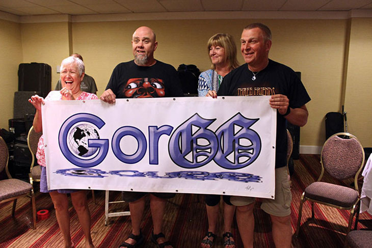 2017 Passing of the GORGG Banner
